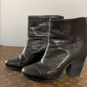 Rag & Bone Black  Newbury Boots 9.5
